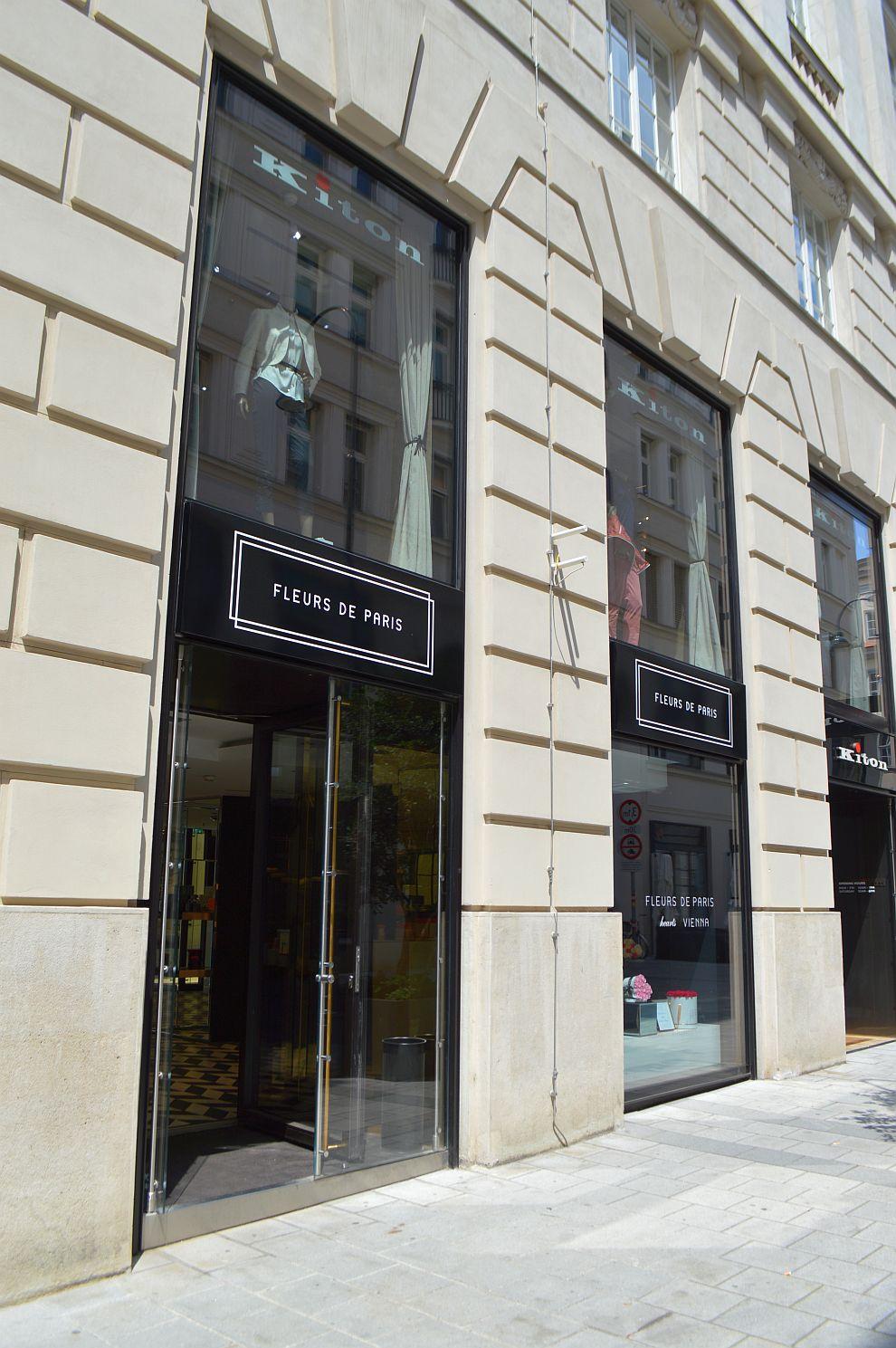 Projekt Kraft GmbH: Shop Design für Fleur de Paris in Wien