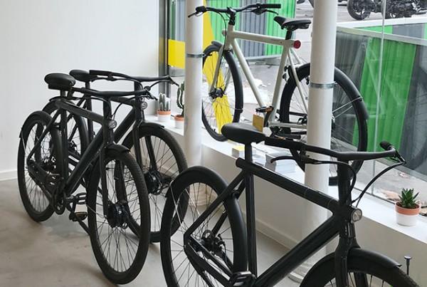 Projekt Kraft: Shop Design für Van Moof, Paris