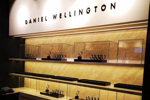 Projekt Kraft: Shop Design und Ladenbau für Daniel Wellington