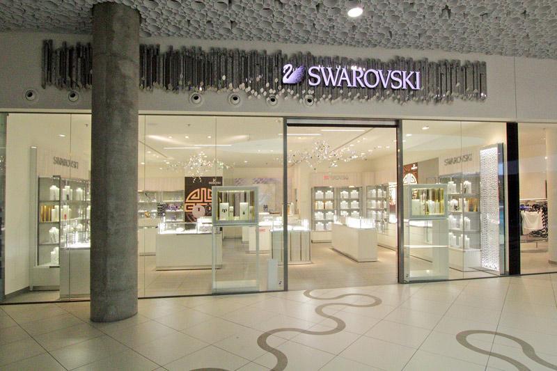 Projekt Kraft: Innenausbau als Generalunternehmer und Facility Management für Swarovski