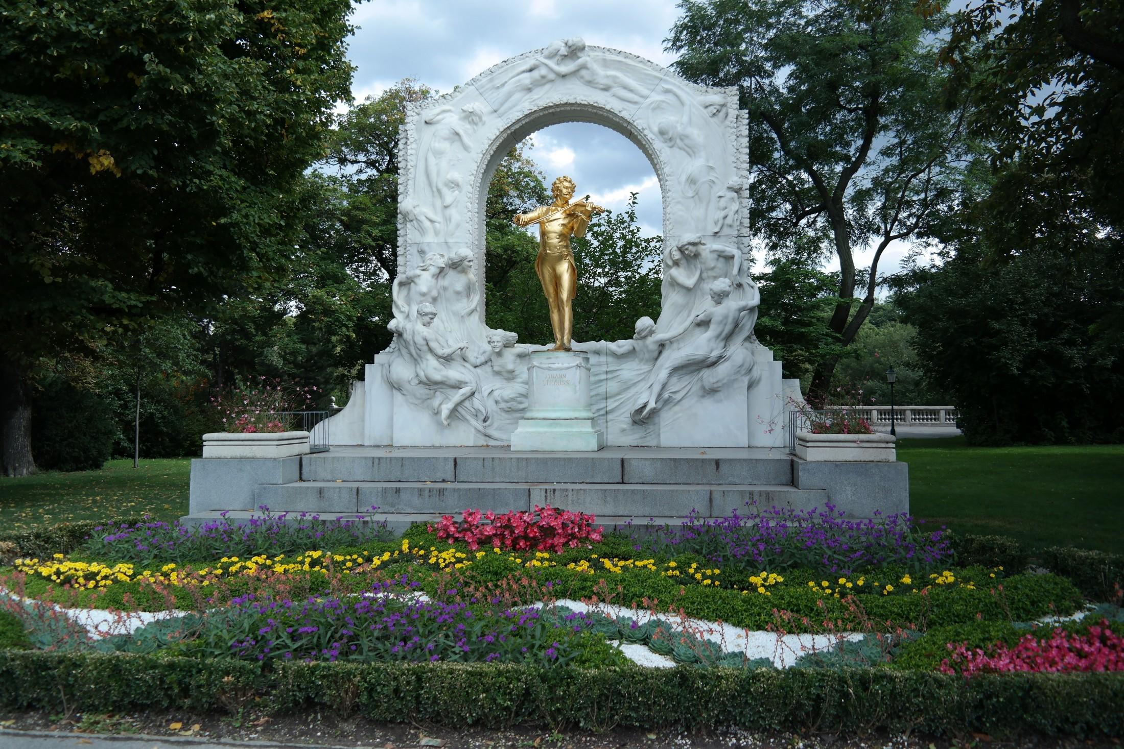 Projekt Kraft-Johann-Strauss-Denkmal