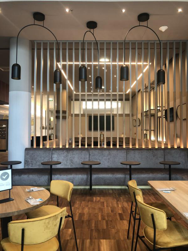 Restaurant Courtyard Marriott Hotel Wien Messe-Prater, Projekt Kraft