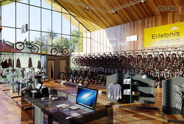 Projekt Kraft - Bikestore St. Corona am Wechsel
